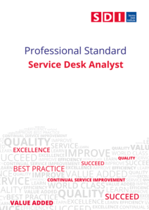 Professional Standards Service Desk Analyst Cover