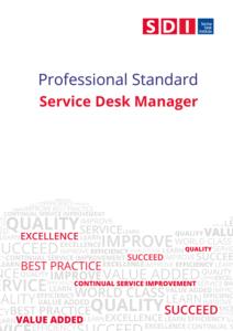 Professional Standards Service Desk Manager Cover