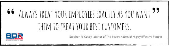 Treat your employees quote