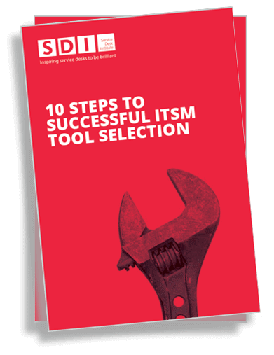 10 steps to ITSM