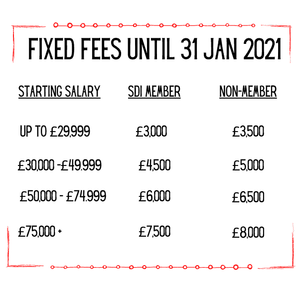 fixed fee recruitment