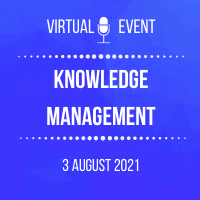 knowldge management2021 200x200 event logo for GoToWebinar (1)