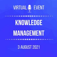 knowldge management2021 200x200 event logo for GoToWebinar (1)